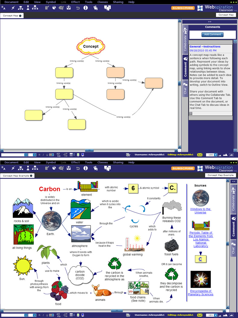 Concept Map Template and Example