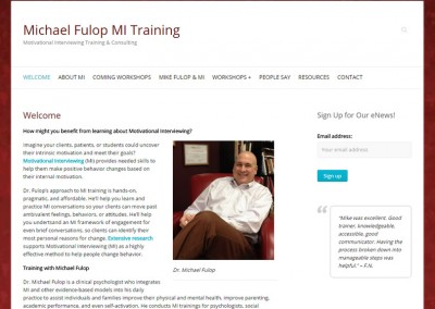 Michael Fulop MI Training