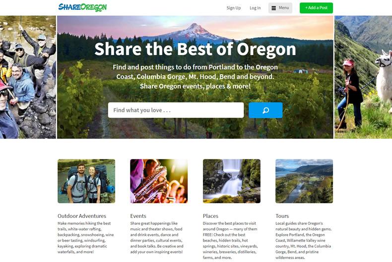 ShareOregon Website