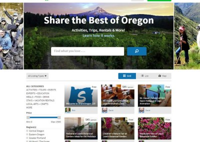 ShareOregon Website