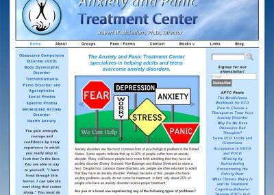 Anxiety & Panic Treatment Center