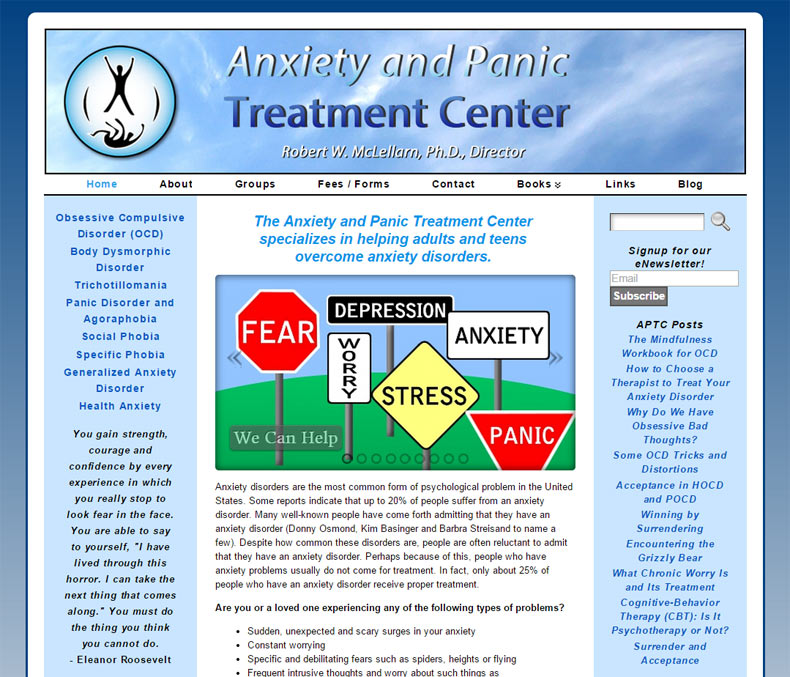 Anxiety & Panic Treatment Center