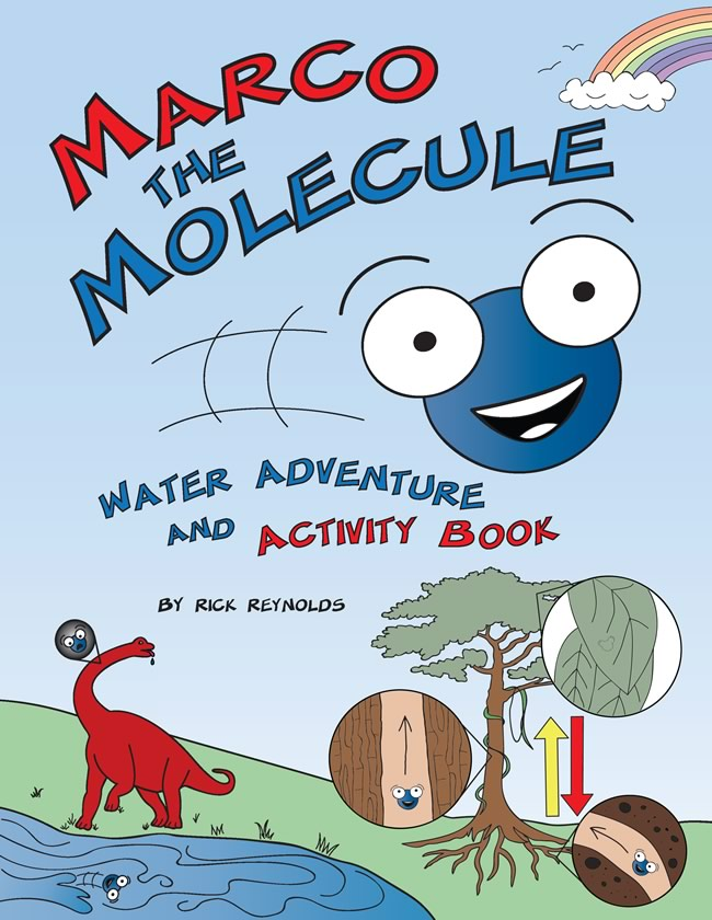 Marco the Molecule: Water Adventure & Activity Book