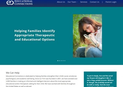 Educational Connections Website