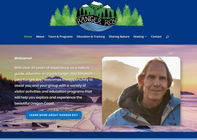 Ranger Roy Explore Website